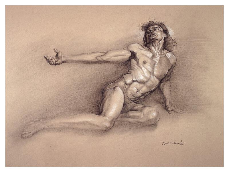 Rajiv ii figure study drawing