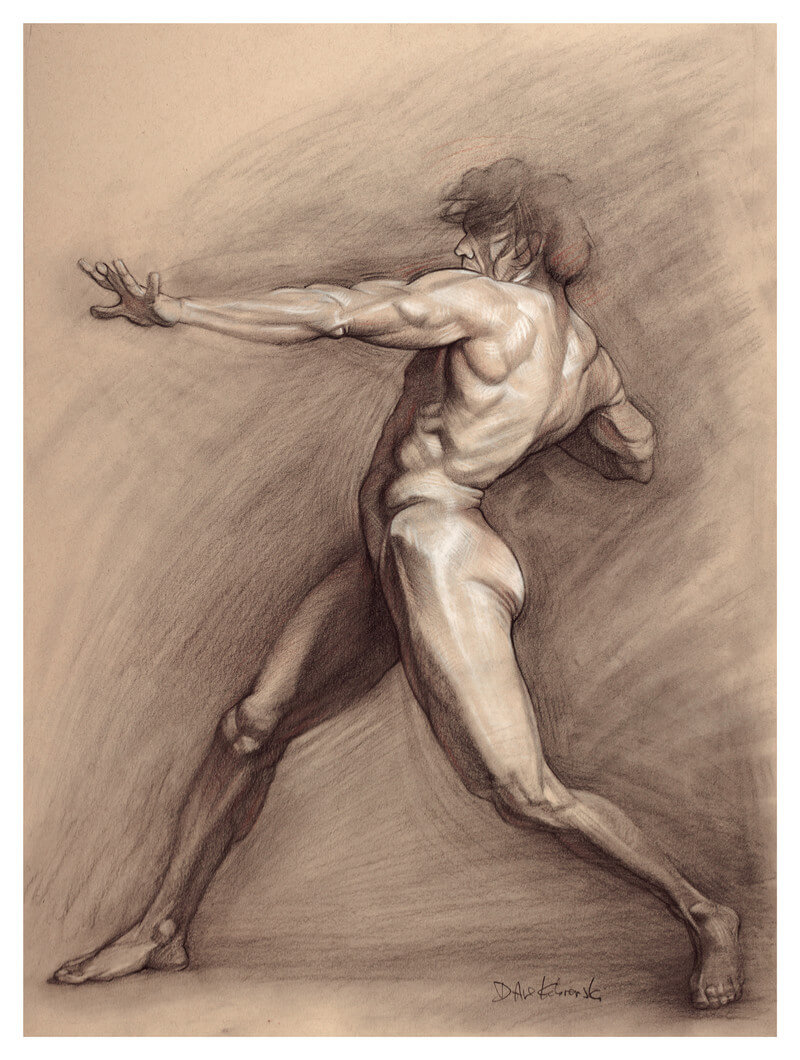 Life Drawing: Anatomy and Figure Drawing Journal