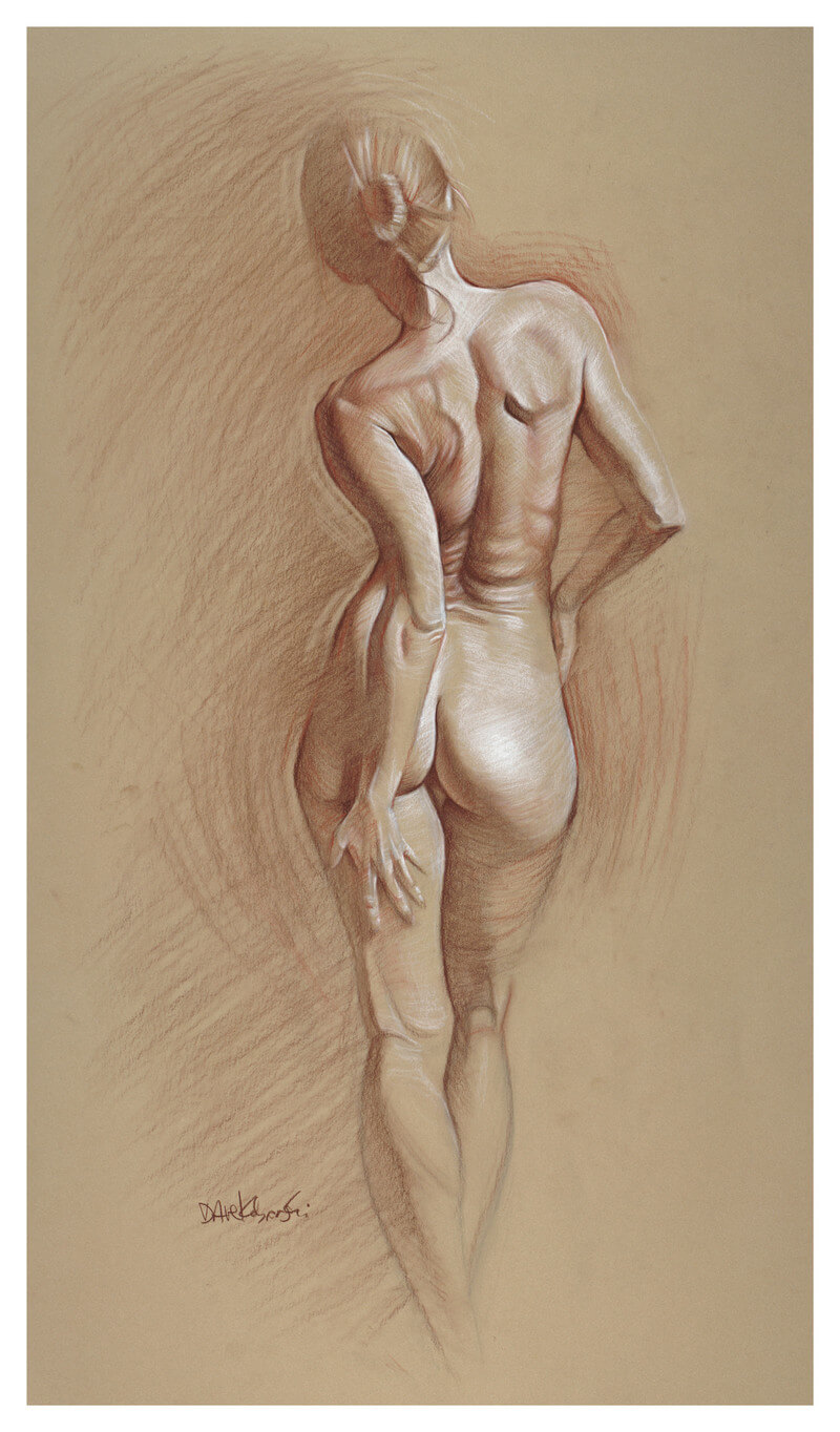 Human Figures In Pencil